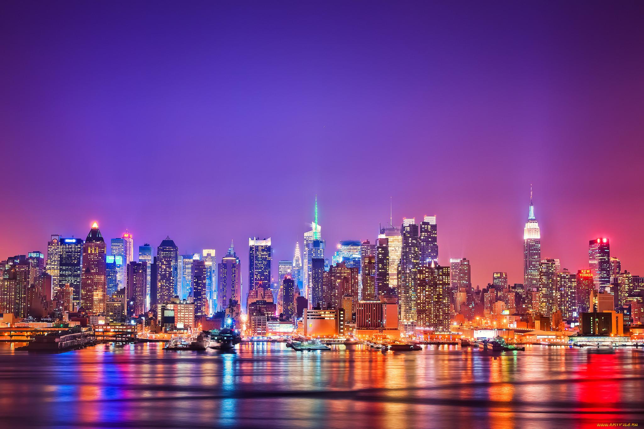 Обои new york, Корабли. Города foto 8